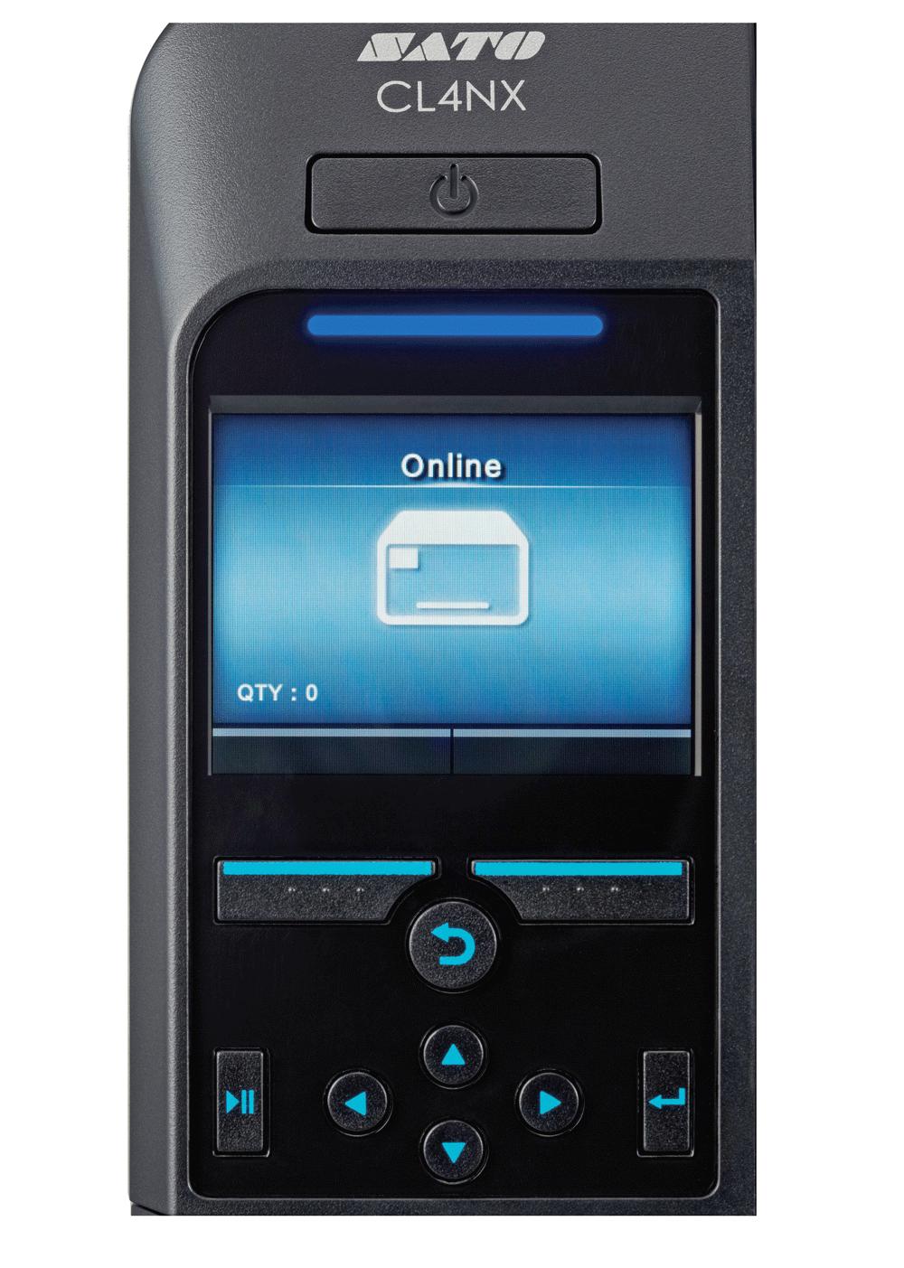 SATO CL4NX Display