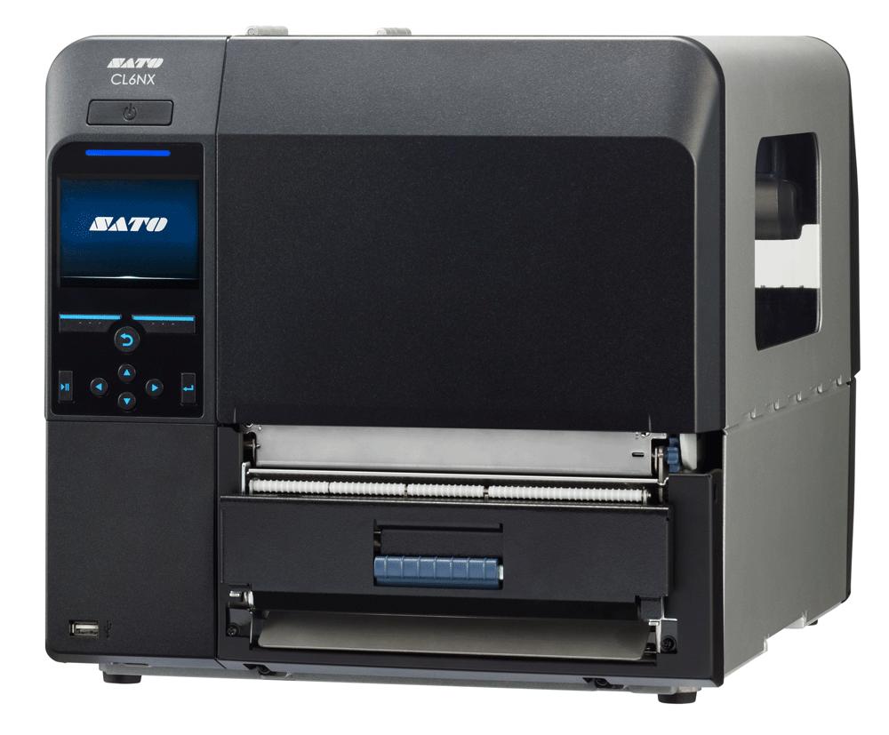 SATO CL6NX Dispenser